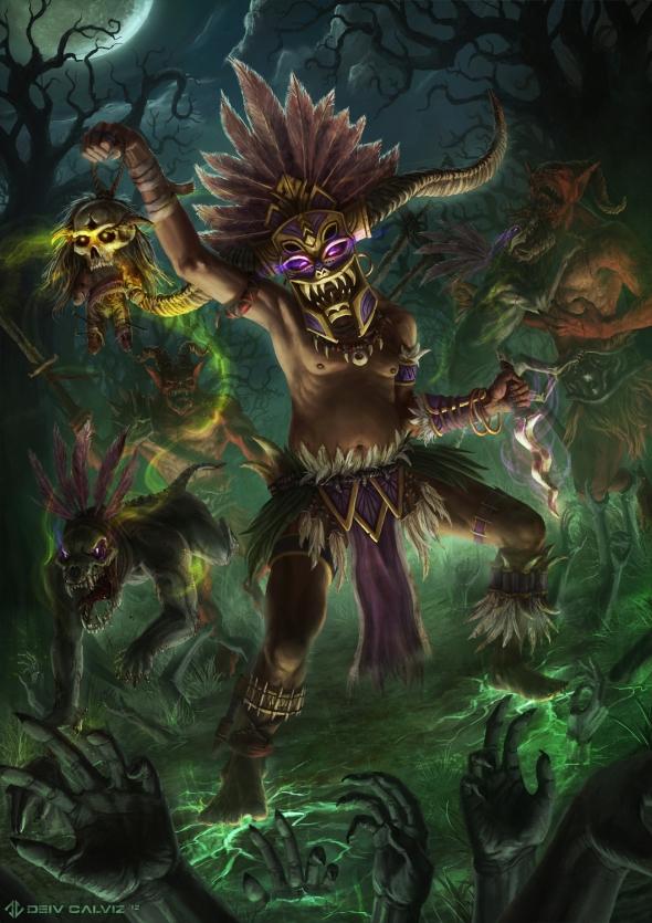 Diablo 3 Witch Doctor Fan Art