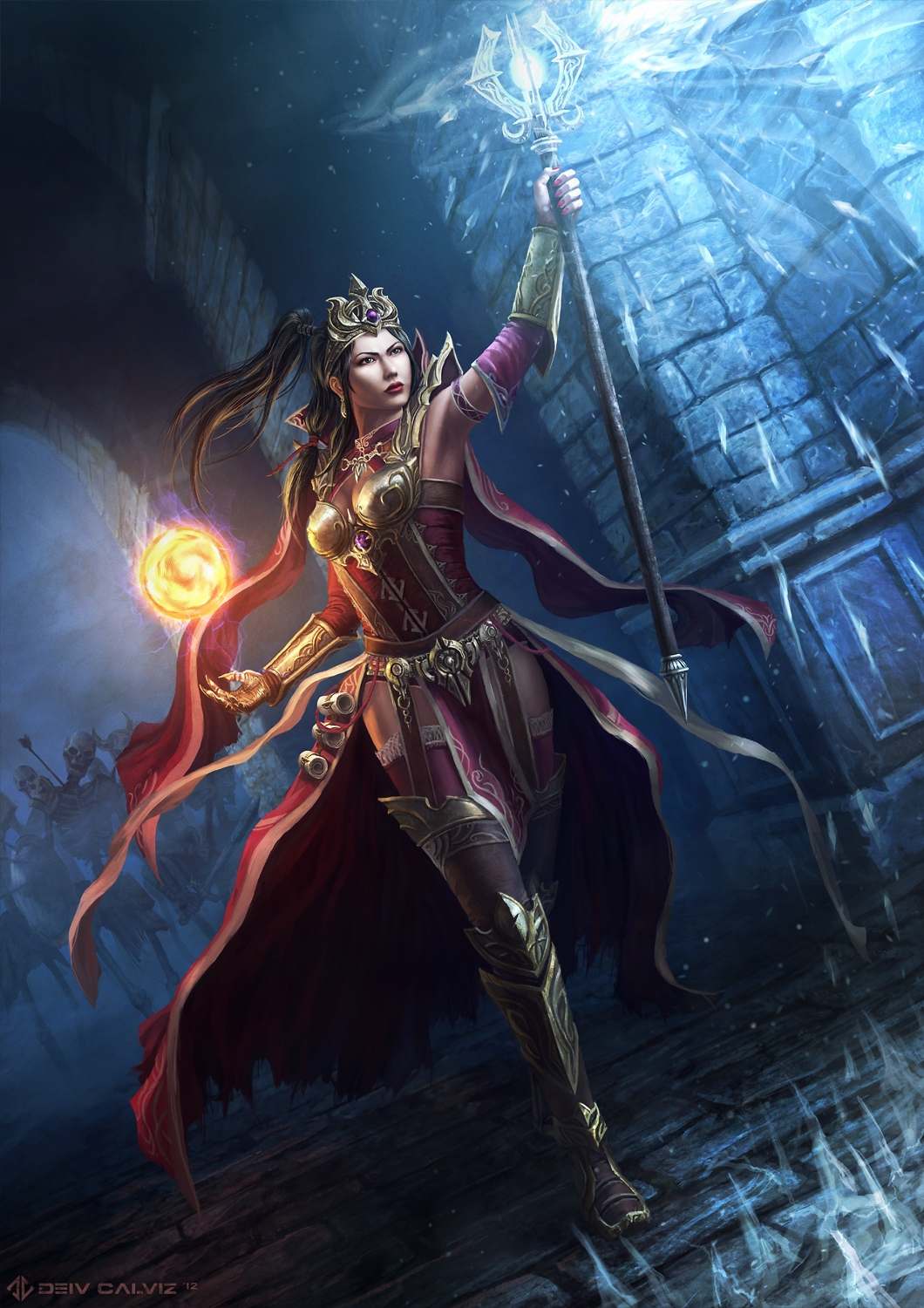 Diablo 3 Wizard Fan Art