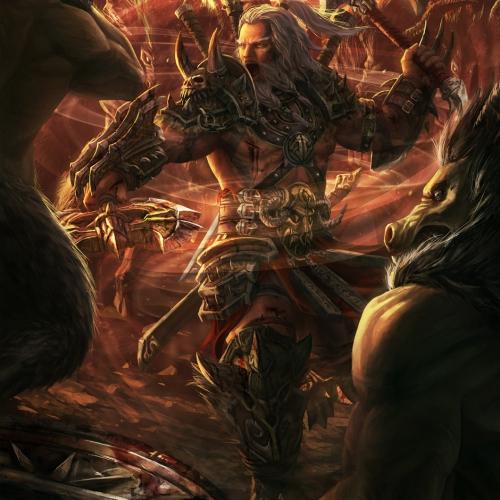 Diablo 3 Barbarian Fan Art