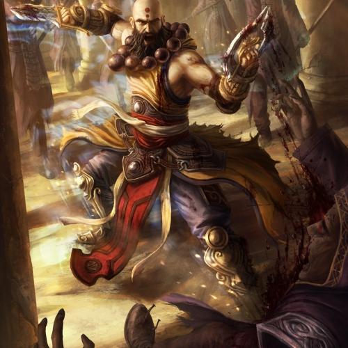 Diablo 3 Monk Fan Art