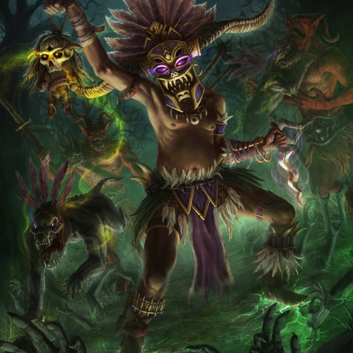 Diablo 3 Witch Doctor Fan Art