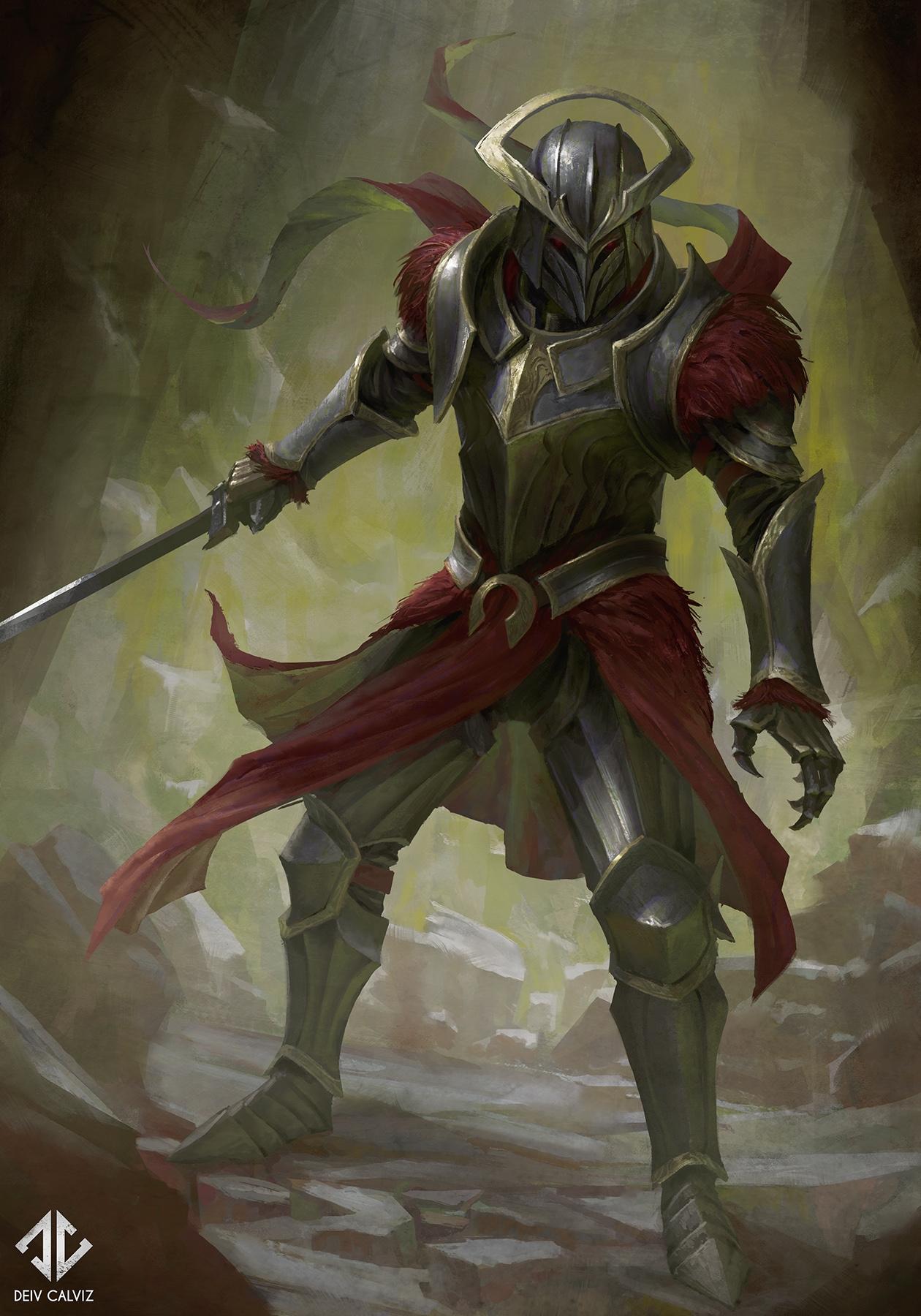 Red Knight_Deiv Calviz_Web