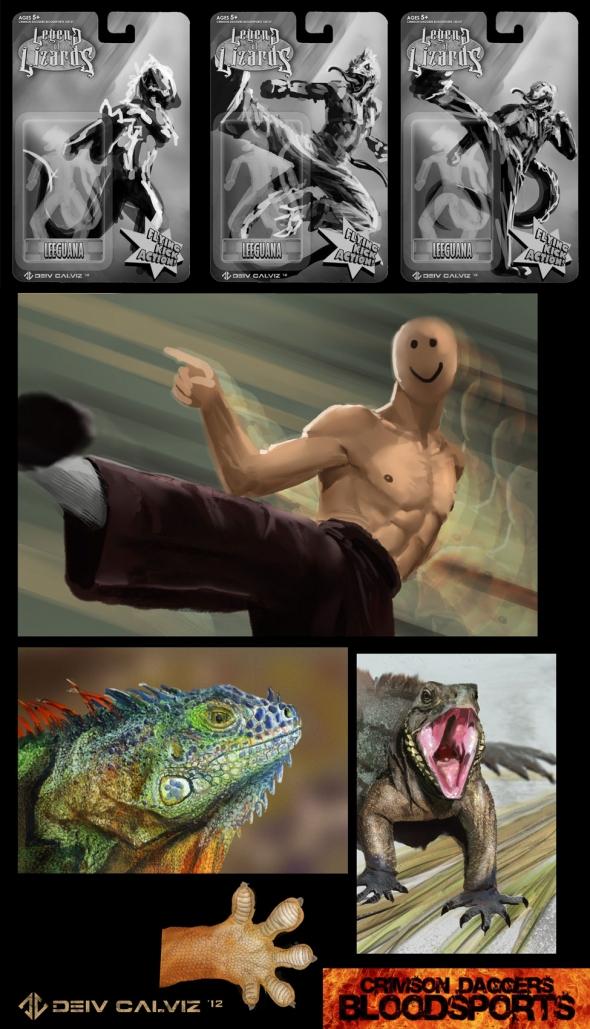 Bloodsports # 4 Studies