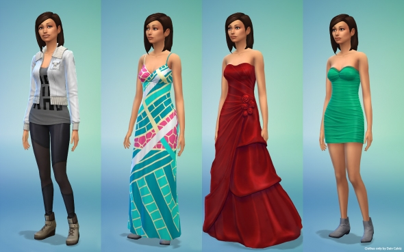 Sims 4 Body Female