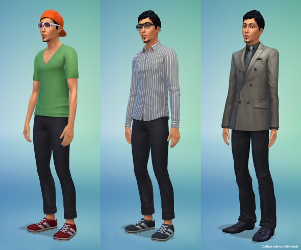 Sims 4 Body Male