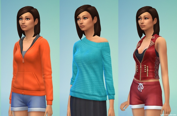 Sims 4 Tops Female