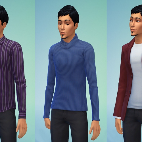 Sims 4 Tops Male