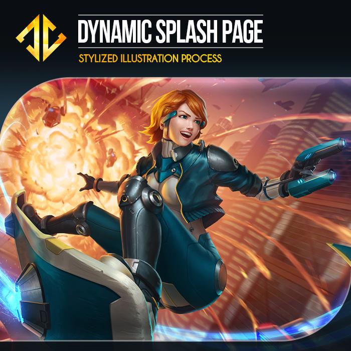 Dynamic Splash Page Gumroad