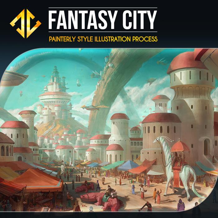 Fantasy City Gumroad